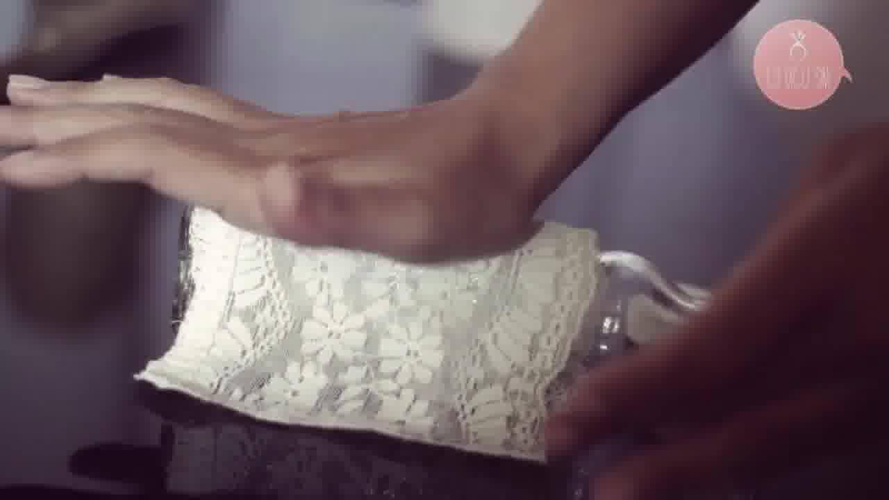 Aprenda a fazer uma linda garrafa para decorar seu casamento