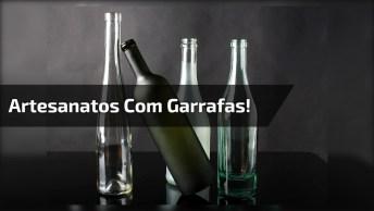 Aprenda A Reaproveitar Garrafas De Bebidas De Vidro, Reciclar Faz Parte!