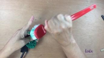 Aprenda Afazer Um Lápis Com Ponteira De Pompom, Fica Super Divertido!