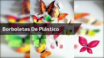 Aprenda Como Fazer Borboleta De Plástico Com Garrafa Pet!