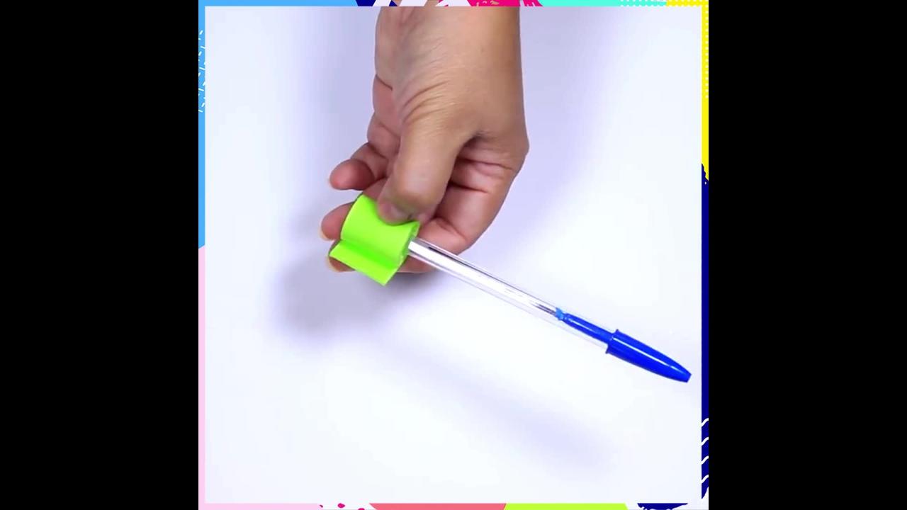 Artesanato com EVA, aprenda a fazer flor para colocar em caneta!!!