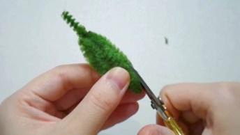 Artesanato Com Limpador De Cachimbo, Olha Só Esta Pequena Flor Que Mimo!
