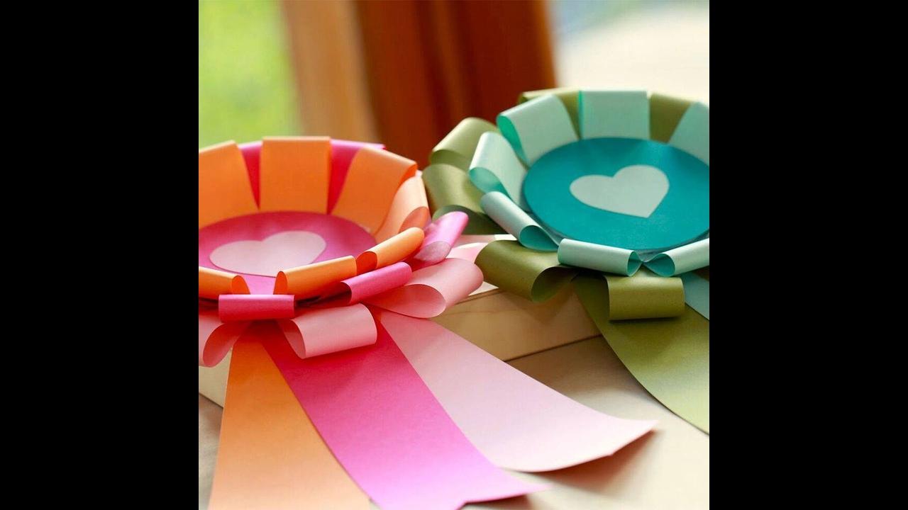 Artesanato de enfeite de flor lindinha para decorar festas