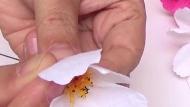 Artesanato De Flores Super Delicadas E Bonitas Para Decorar Sua Casa!