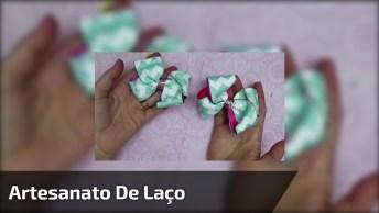 Artesanato De Laço, Mais Um Que Você Vai Gostar De Aprender!
