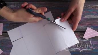 Artesanato De Lindo Cartão Para Alguém Especial, Bora Conferir O Passo A Passo!