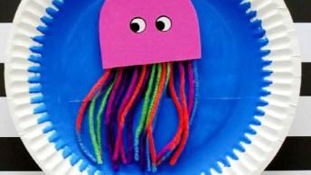 Artesanato De Polvo Super Divertido Para Fazer Com As Crianças!