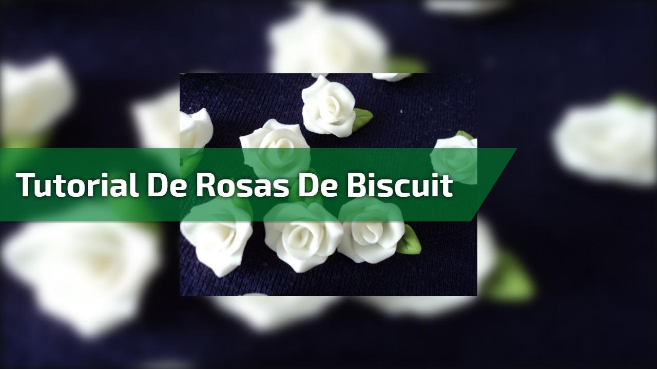 Tutorial de rosas de biscuit