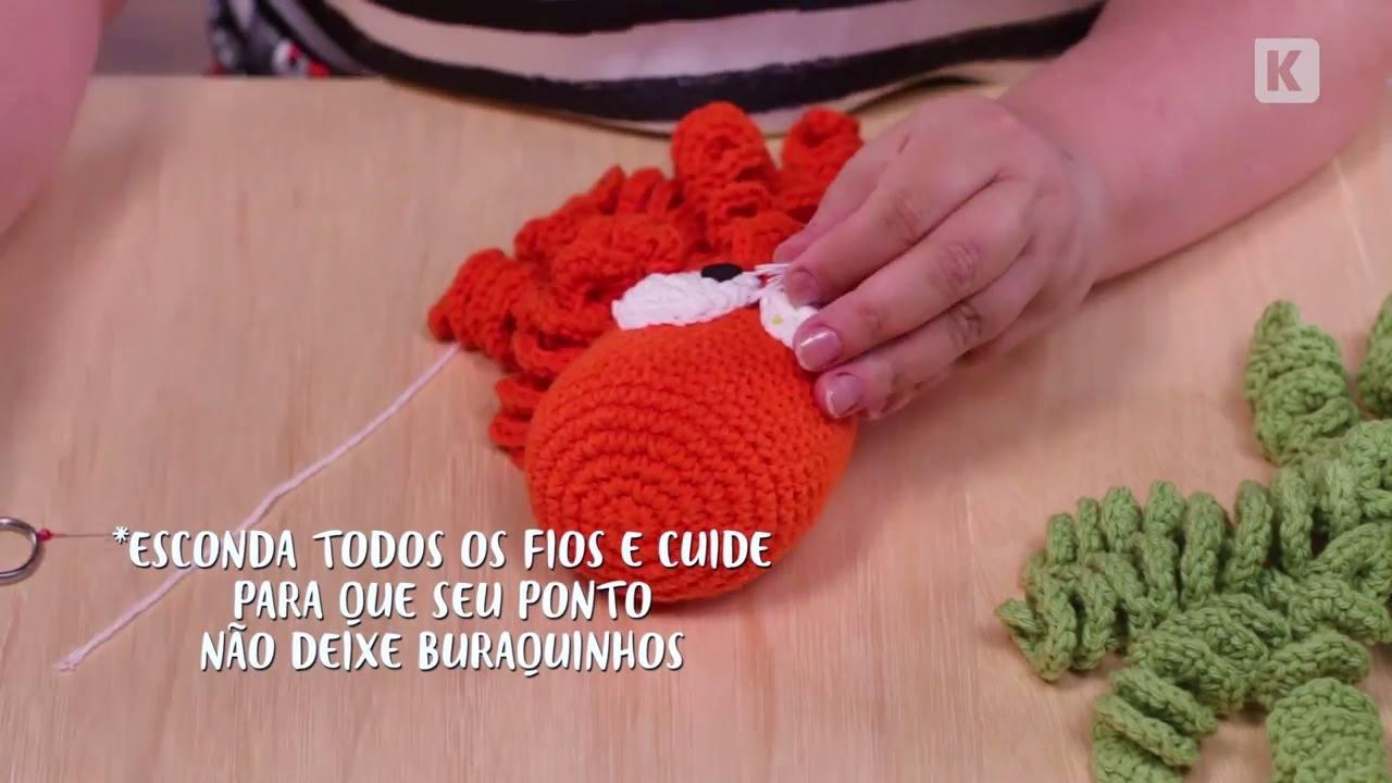 Artesanato lindo polvo de crochê para bebês, veja que fofinho!!!