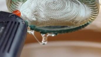 Artesanatos Com Garrafas De Vidro, Olha Só Estas Ideias Maravilhosas!