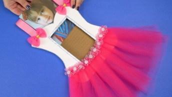Artesanatos De Bailarinas Para Quarto De Criança, Fica Tudo Lindo!