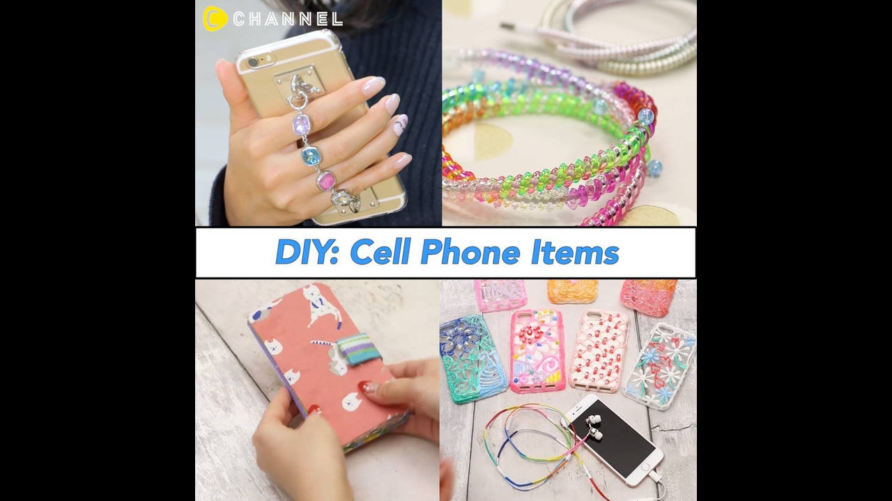 Artesanatos para capinhas de celulares