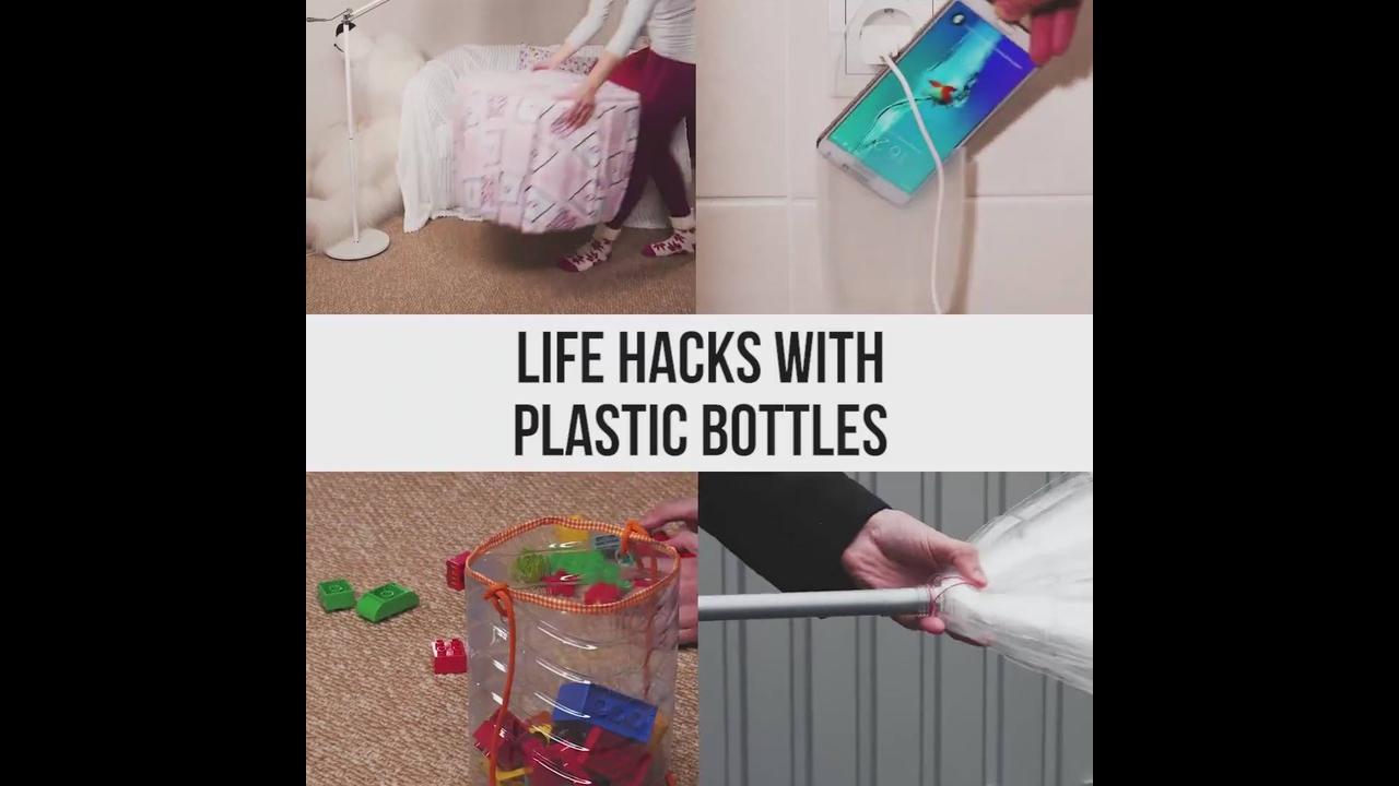 Artesanatos para fazer com garrafas pets