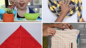 Artesanatos Para Fazer Com Toalhas, São Dicas Úteis Para Seu Dia A Dia!