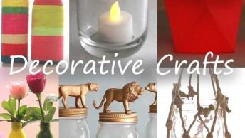 Artesanatos Para Fazer Decorações De Casa, Vale Muito A Pena Aprender!