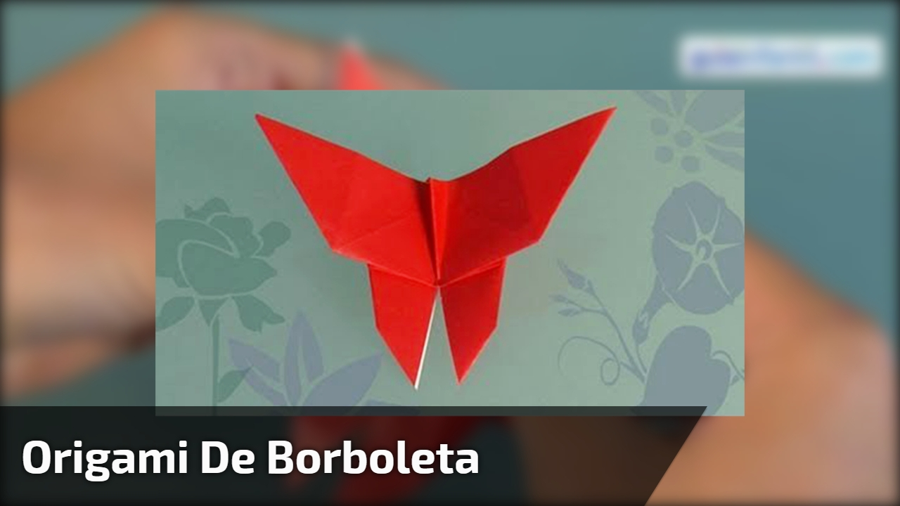 Origami de Borboleta