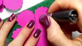 Botão De Flor Se Abrindo, Aprenda A Fazer Um De Maneira Bem Simples!