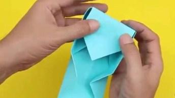 Caixa De Presente Fácil De Fazer Para Colocar Presente, Confira E Compartilhe!