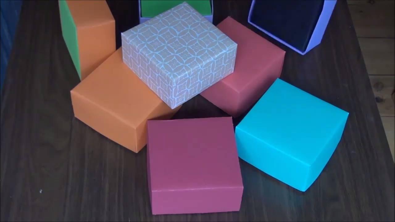 Caixas artesanais, aprenda a fazer de uma vez por todas