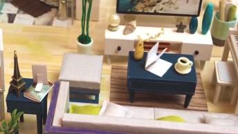 Casa Em Miniatura, Esse É Um Artesanato Que Todo Mundo Se Apaixona!