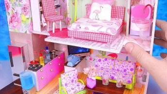 Casinha Em Miniatura, Aprenda A Fazer Uma Dessa Para Sua Filha!