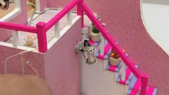 Casinha Em Miniatura Para Brincar De Boneca, Tudo Feito A Mão!