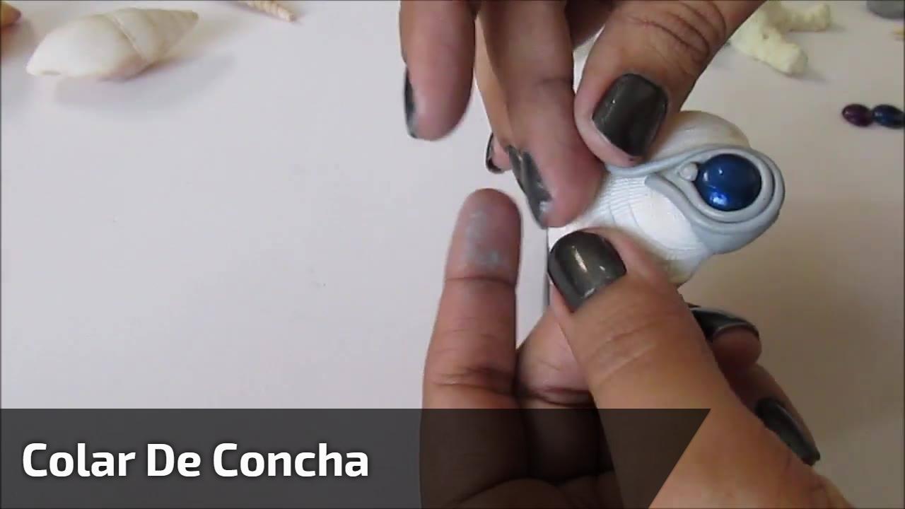 Colar de concha