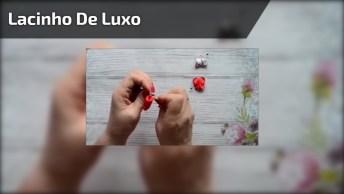 Como Fazer Lacinho De Luxo Para Crianças, Fica Lindo, Confira!