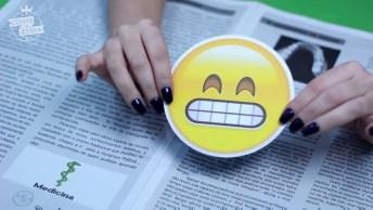 Como Fazer Porta Copos Emojis Do Whatsapp Utilizando Cds E Dvds Velhos, Confira!