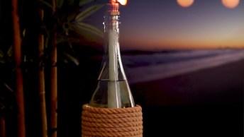 Como Fazer Um Aromatizador Na Garrafa De Vinho, Muito Simples E Eficaz!