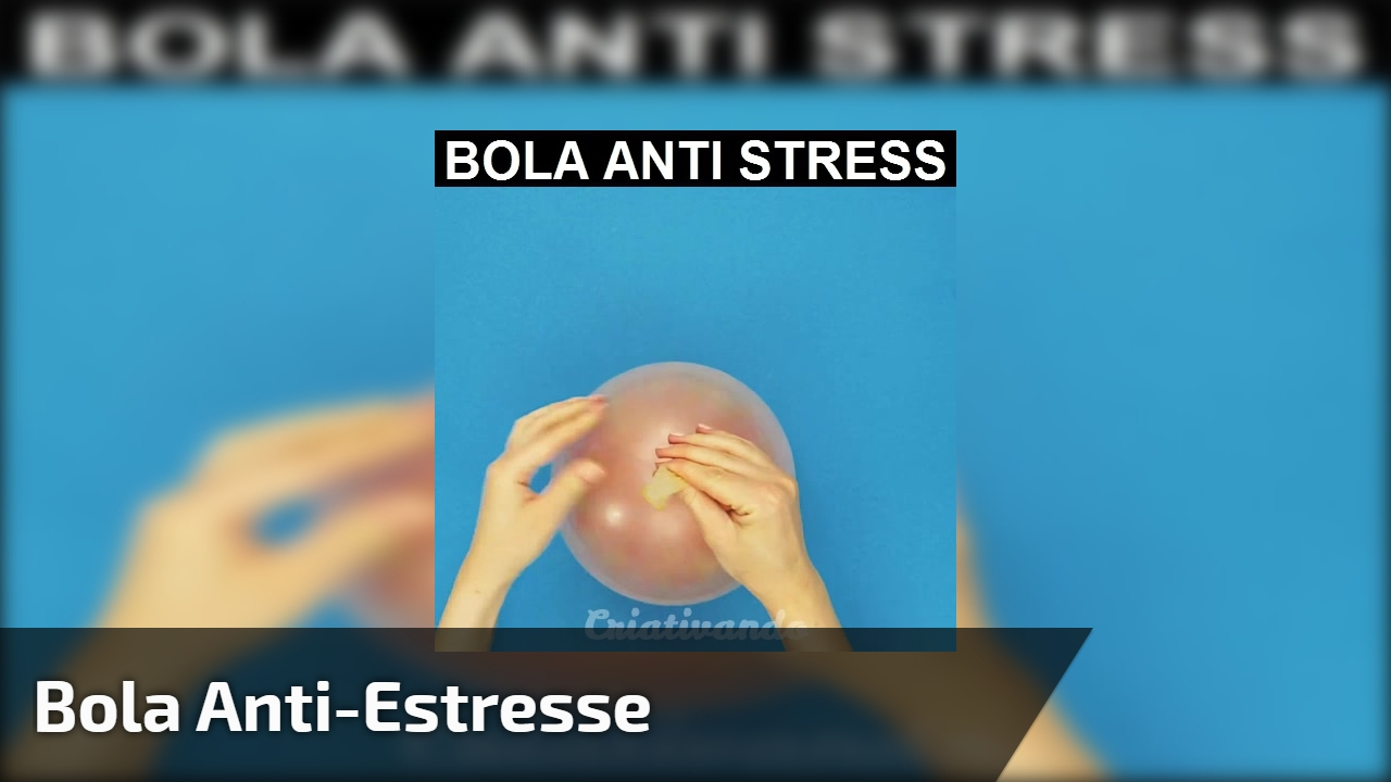 Bola anti-estresse