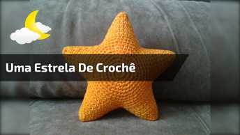 Como Fazer Uma Estrela De Crochê, Super Fácil E Fica Lindo!