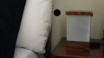 Como Fazer Uma Luminária Para Colocar Ao Lado Da Sua Cama, Confira!