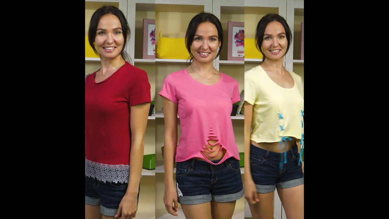 Como mudar as camisetas de seu guarda-roupa e criar novas peças