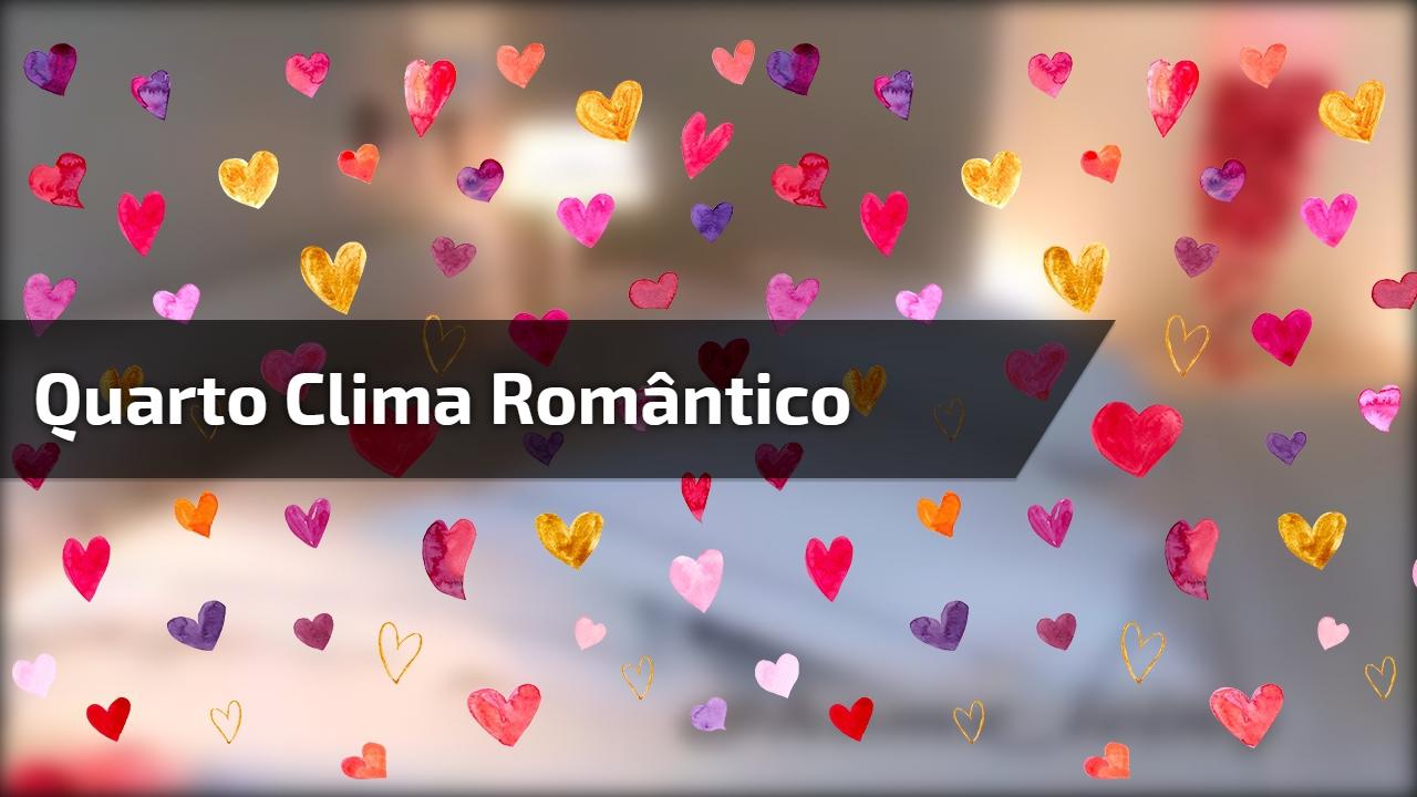 Quarto clima romântico