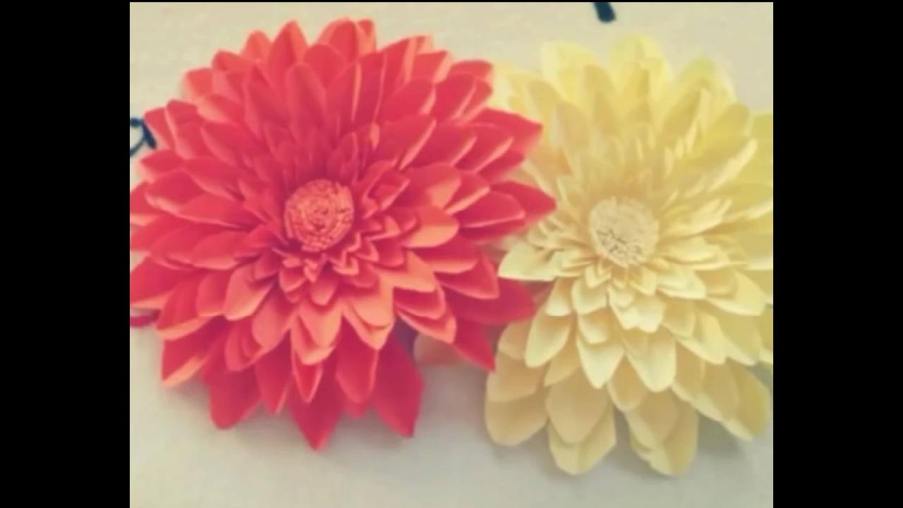 Flor de artesanato fácil e linda