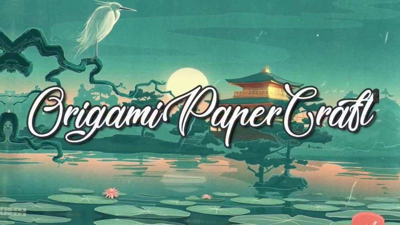 Flor de origami, veja que coisa mais linda e legal de fazer