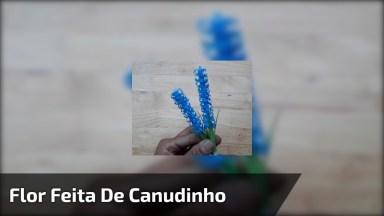 Flor Do Campo Feito Com Canudo De Tomar Refrigerante, Fica Linda!