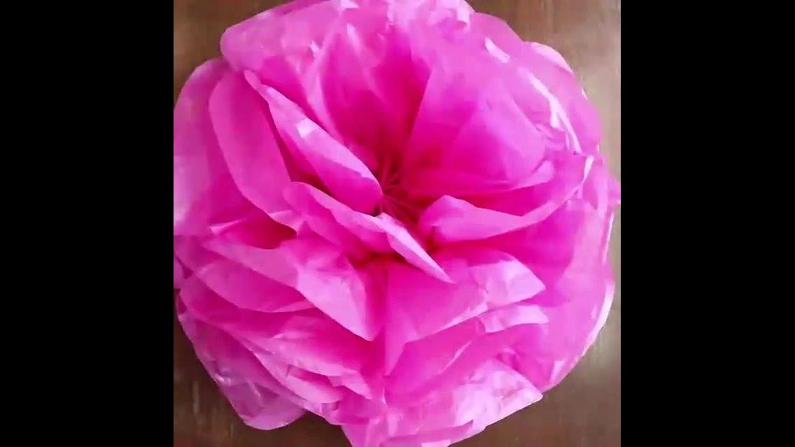 Flor grande fácil de fazer, mais um artesanato incrível!