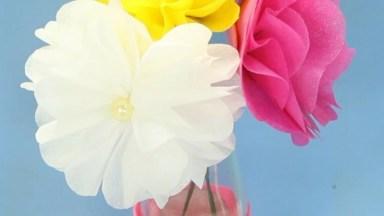Flores Coloridas Para Enfeitar Sua Casa, Veja O Vídeo E Aprenda Agora Mesmo!