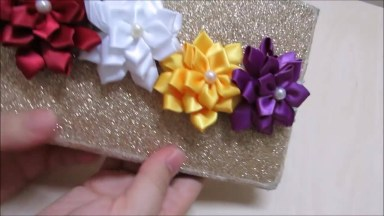 Flores De Cetim, Uma Ideia Passo A Passo Para Você Aprender!