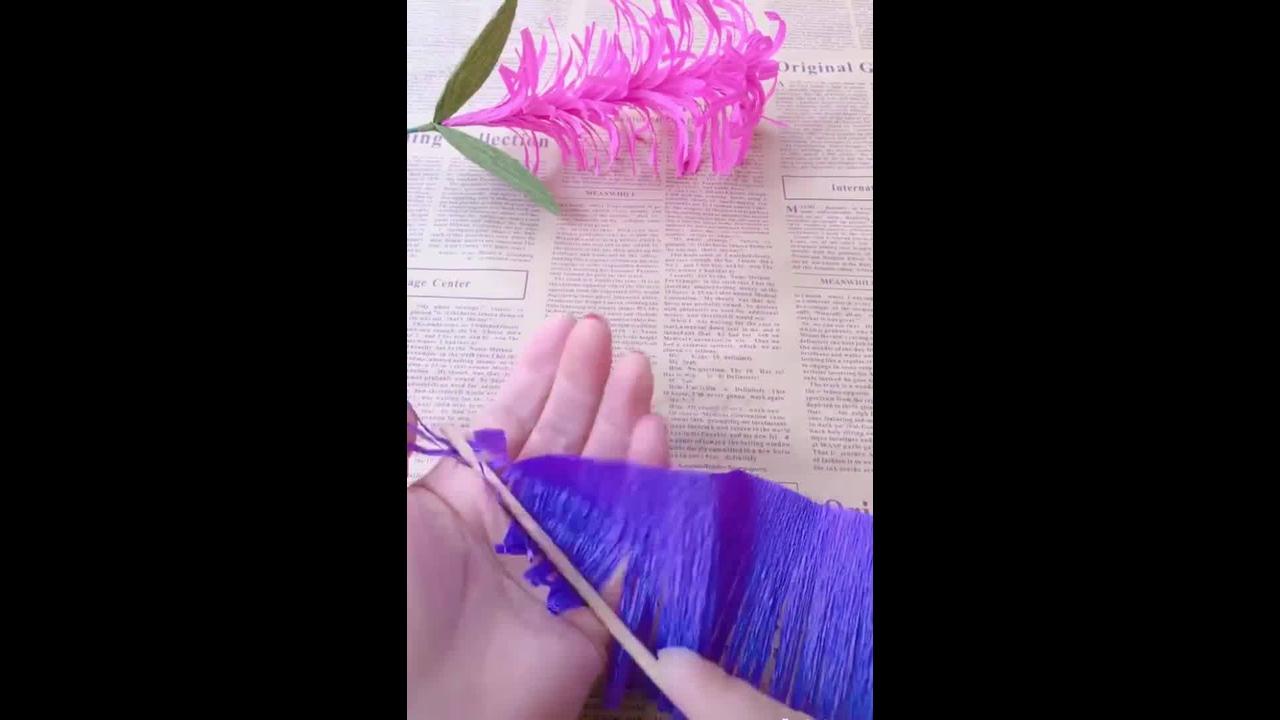 Flores de papel, um artesanato que você sempre vai precisar