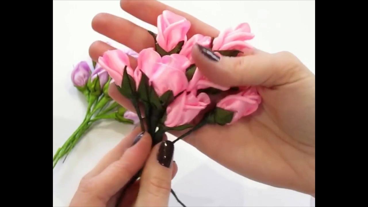 Flores de Tecido - Aprenda como fazer e criar lindos arranjos