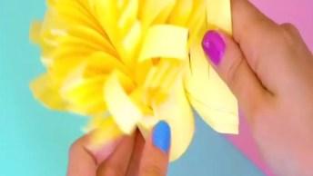 Flores Feitas Com Arame E Esmalte De Unha Para Decorar Iaras E Prendedor!