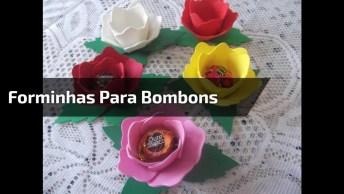 Forminhas Para Bombons Em Formato De Rosas, Que Ideia Incrível!