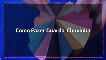 Guarda-Chuvinha De Artesanato Para Decorar Festas Ou Fazer Móbile!