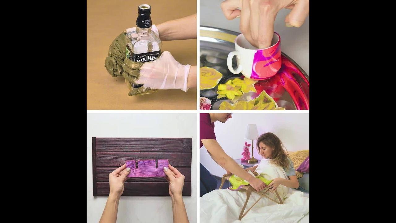 Ideias de artesanatos incríveis para decoração