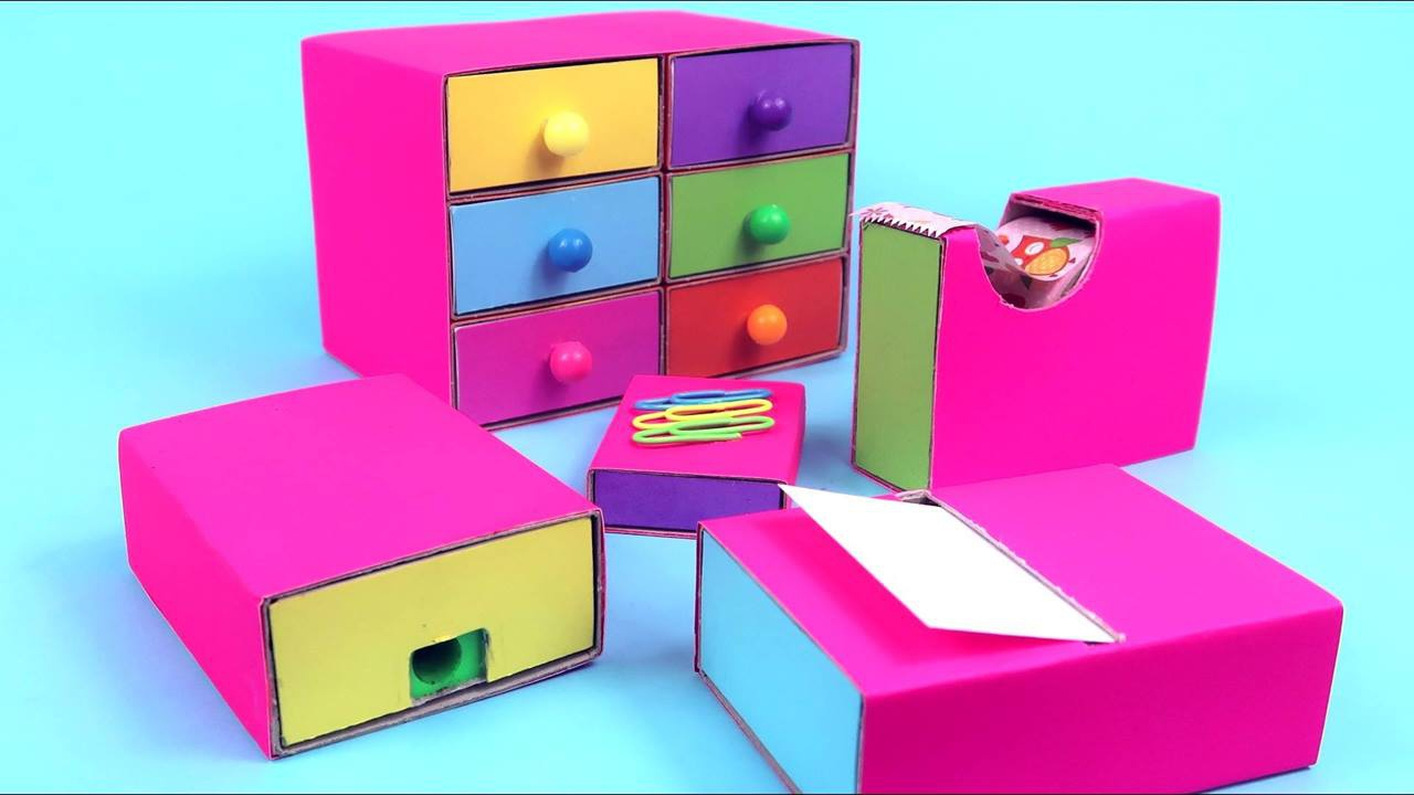 Ideias de artesanatos para fazer com caixa de fósforo