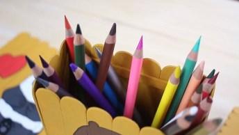 Ideias De Artesanatos Para Fazer Com Palitos De Picolé, 3 Opções Incríveis!