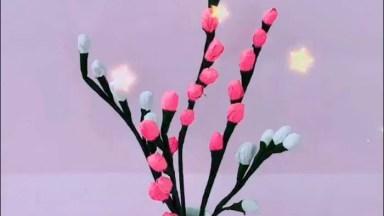 Ideias De Flores Artesanais Para Fazer E Decorar A Sua Casa!